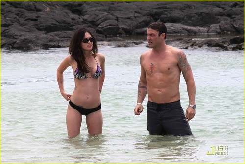 Megan raposa & Brian Austin Green: Kona Couple