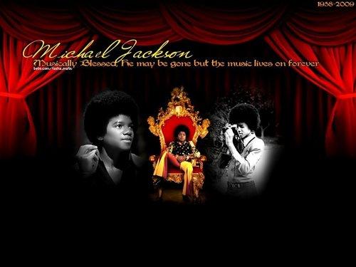 Michael Jackson দেওয়ালপত্র (niks95) <3