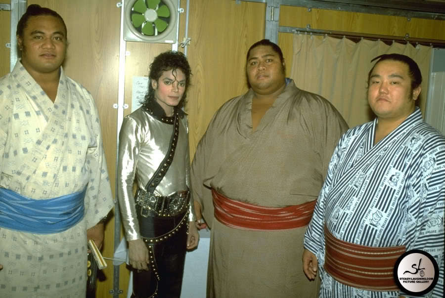"Michael and the ""big guys"" lol! :)"