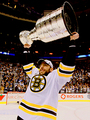 Milan Lucic and the Stanley Cup - 2011