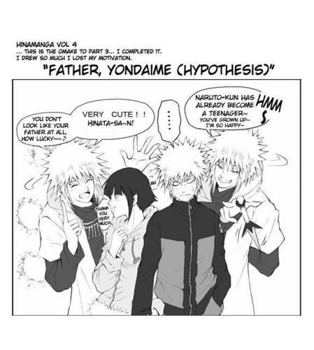 Minato, नारूटो and Hinata