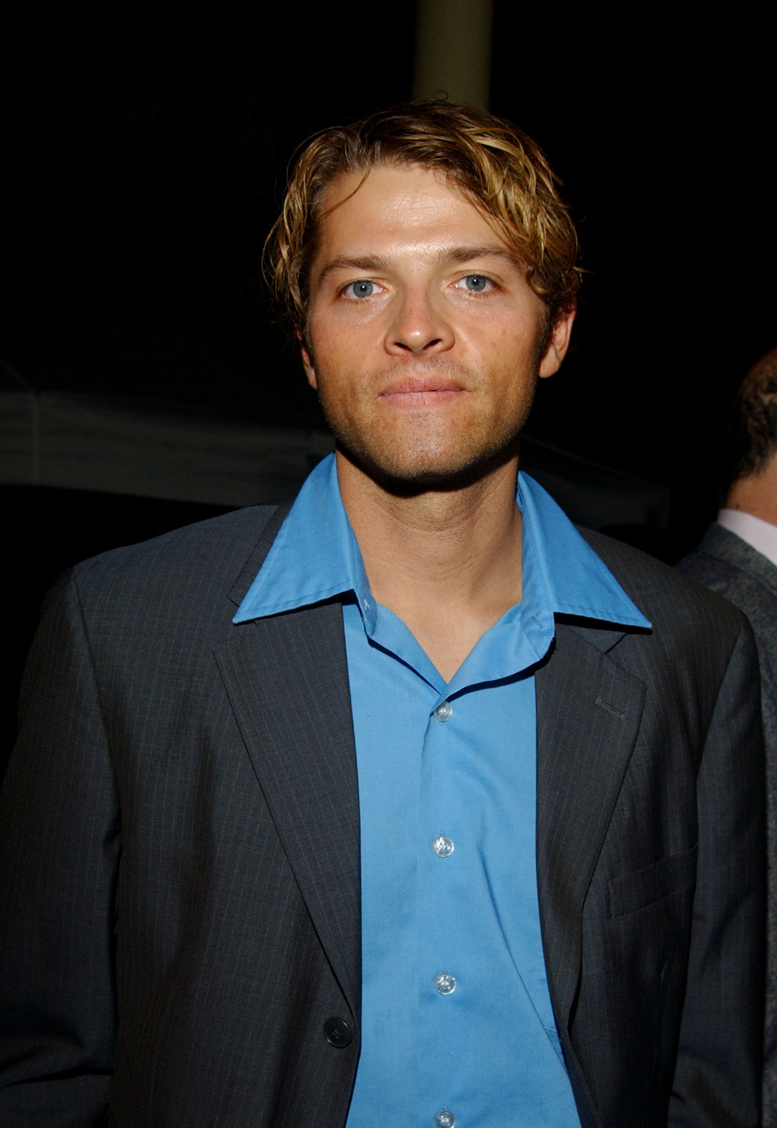 misha collins Jensen ackles, jared padalecki and misha collins catch up with their pal scooby doo outside the dolby theatre in hollywood.