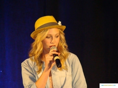 More pics from Candice's appearance at Bloody Night Con 2011!