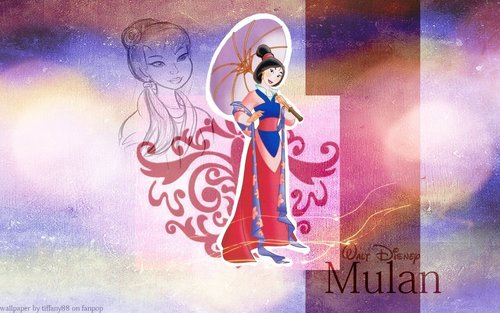 Mulan wallpaper containing anime called Mulan