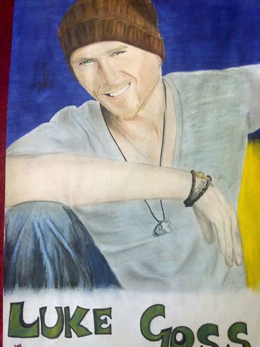 My Luke Goss Drawing