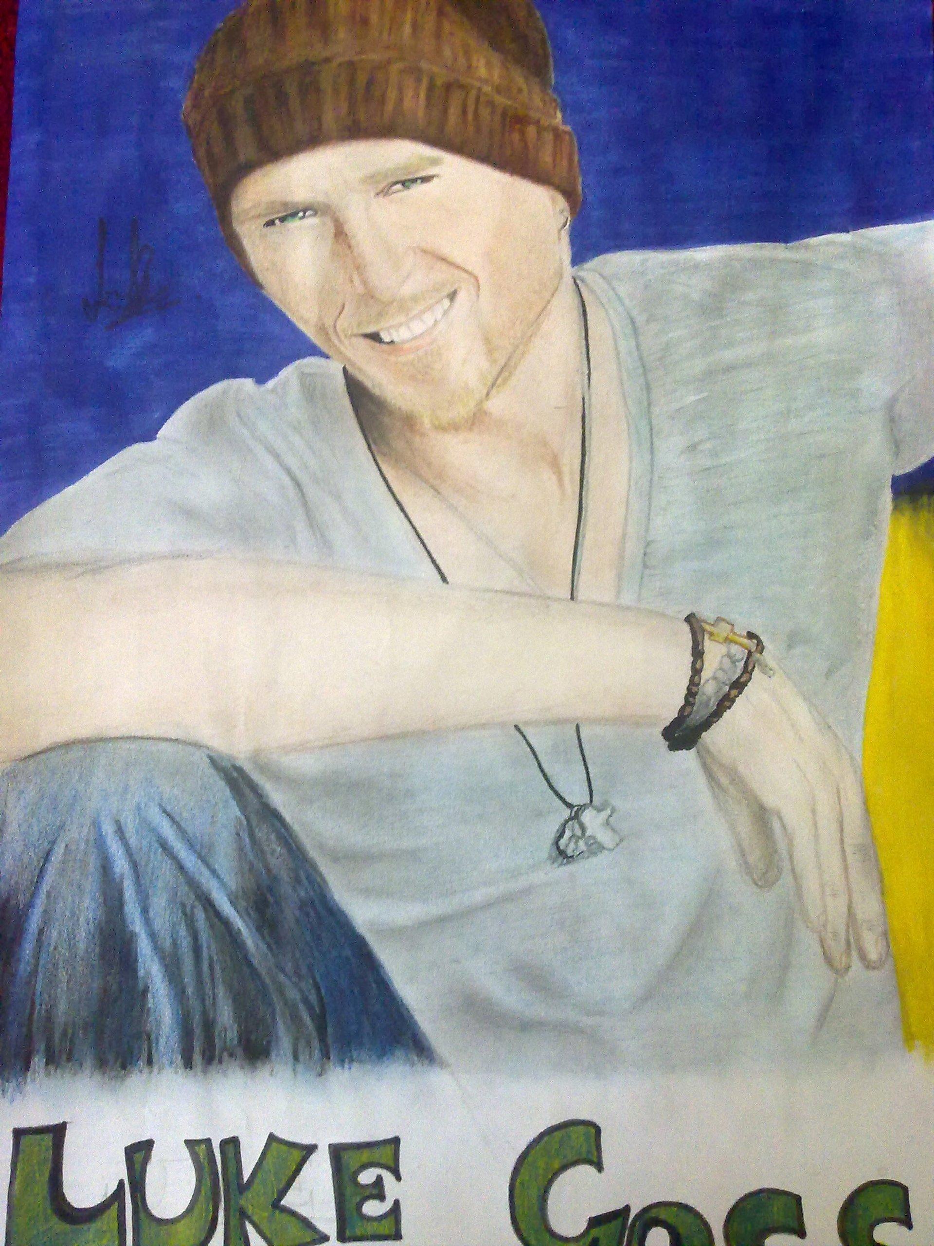 My Luke Goss Drawing