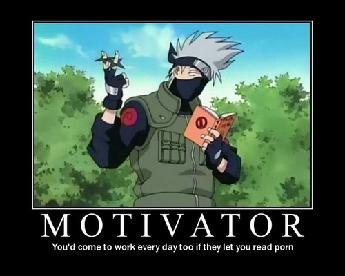 Naruto Motivational Poster