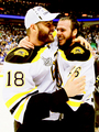 Nathan Horton and David Krejci - 2011