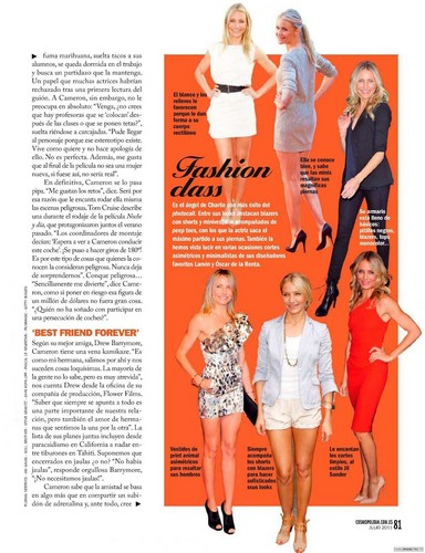New scans of Cameron Diaz in Cosmopolitan Magazine