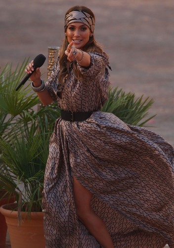 "Nipslip Candids at ""Wetten, Dass…?"" Show in Palma de Mallorca"