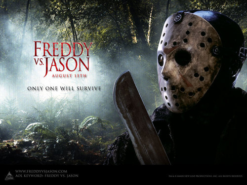 Friday the 13th wallpaper possibly containing a spatula and a cleaver called Only One Will Survive