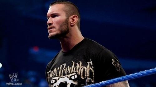 Orton on smackdown