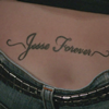Pamela's tattoo