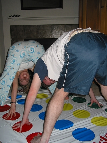 """Party Games...Let's Play Twister MDR """""""""""