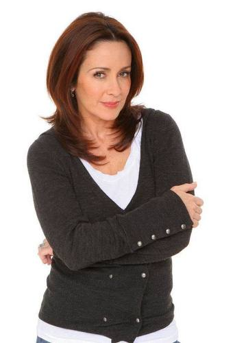 patricia heaton wallpaper with a blouse, a pullover, and an outerwear entitled Patricia Heaton