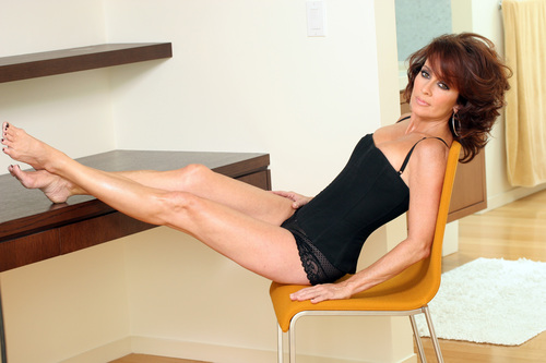 patricia heaton wallpaper with bare legs, tights, and a leotard called Patricia