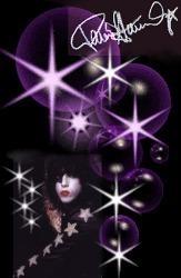 Paul - Purple Sparkles
