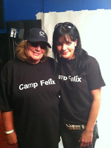 Pauley & Penny Marshall