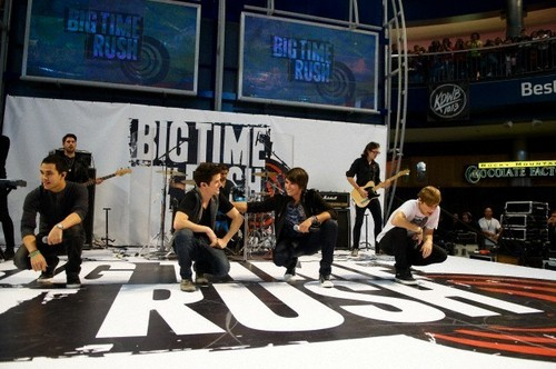 Performing at Mall of America (October 2010)