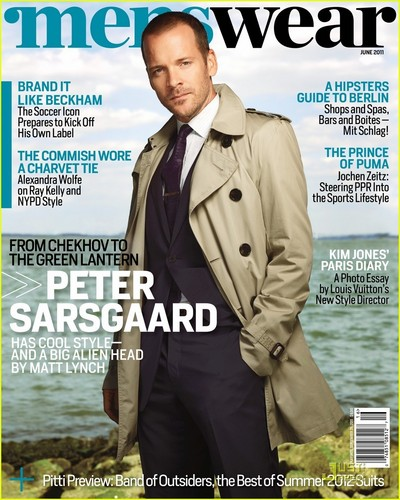 Peter Sarsgaard Covers 'Menswear' July 2011
