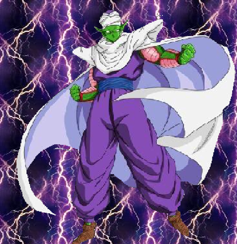 Piccolo in a Lightning backround