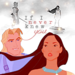 Pocahontas and John - walt-disney-characters icon
