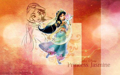 Aladdin wallpaper titled Princess Jasmine