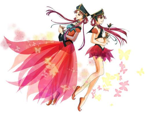 Princess Kakyuu and Sailor Kakyuu