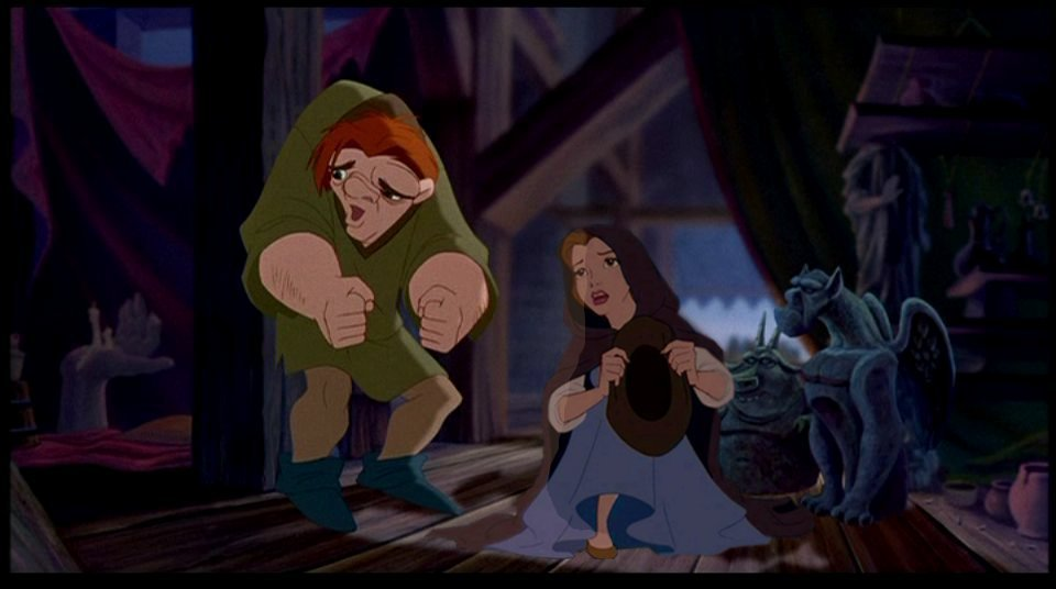 Disney Crossover Images Quasimodo Belle Hd Wallpaper And