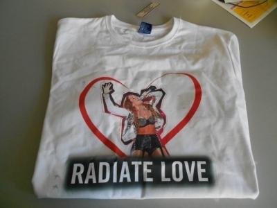 Radiate प्यार कमीज, शर्ट