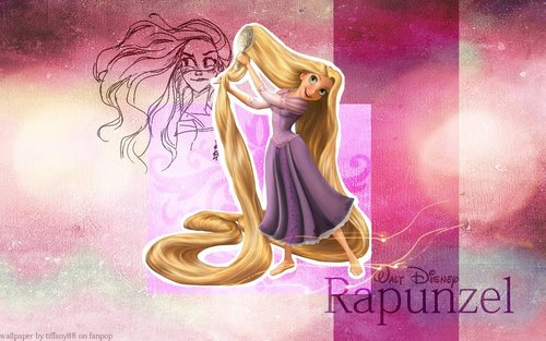 Tangled achtergrond probably with anime called Rapunzel