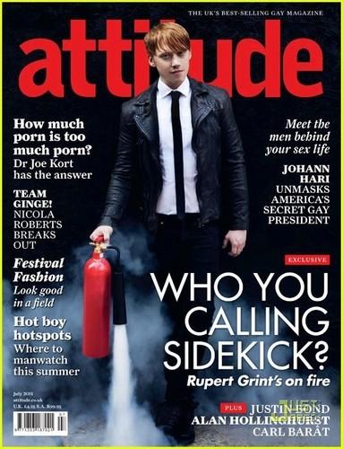 Rupert Grint Covers 'Attitude' July 2011