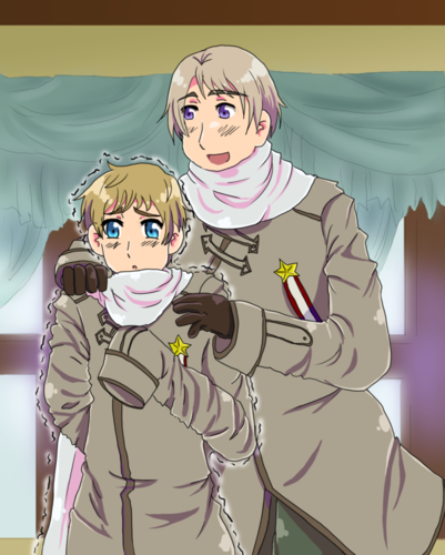Russia and Latvia are twins, ja?