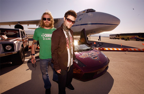 Ryan Dunn with Bam Margera 3