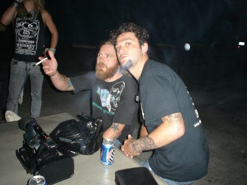 Ryan Dunn with Bam Margera 4
