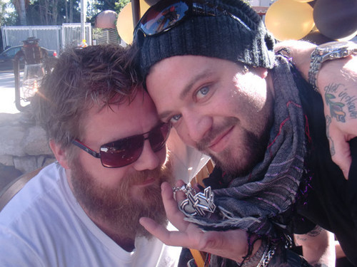 Ryan Dunn wallpaper entitled Ryan Dunn with Bam Margera 6