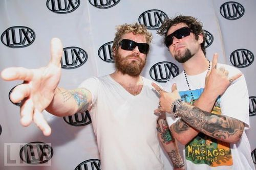 Ryan Dunn with Bam Margera