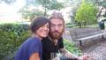 Ryan Dunn with Girlfriend Angie