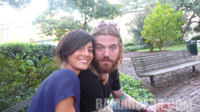 Ryan Dunn wallpaper called Ryan Dunn with Girlfriend Angie