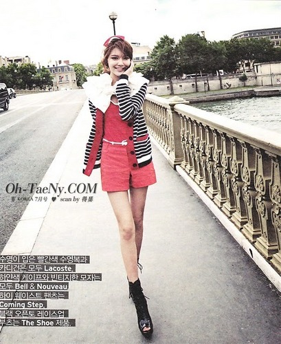 SNSD Sooyoung WKorea July Issue Scans
