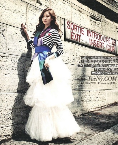 SNSD Seohyun WKorea July Issue Scans