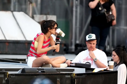 Selena - MuchMusic Video Awards Rehearsals - June 18, 2011
