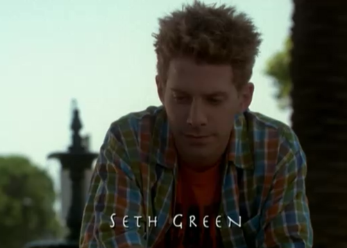 Buffy the Vampire Slayer wallpaper titled Seth Green/Oz