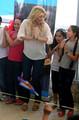 Shakira's Israel Schoolhouse Visit - shakira photo