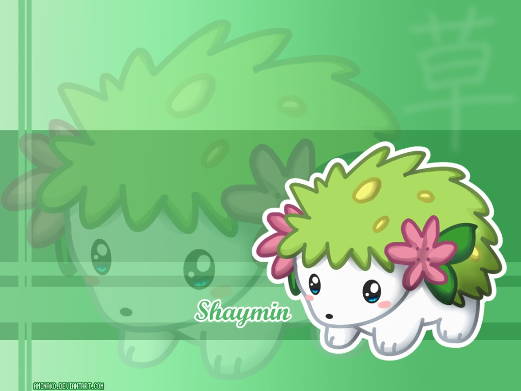 Pokémon images Shaymin HD wallpaper and background photos ...