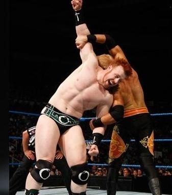 Sheamus vs Christian