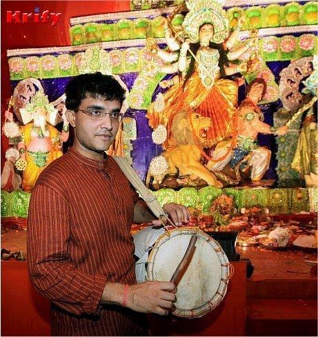 Sourav Ganguly | Durga Puja