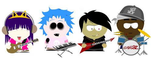 South Park Gorillaz
