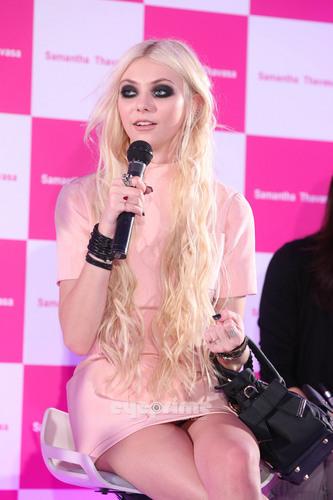 Taylor Momsen Promotes Samantha Thavasa In Tokyo, Jun 18