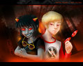 Terezi and Dave - homestuck fan art